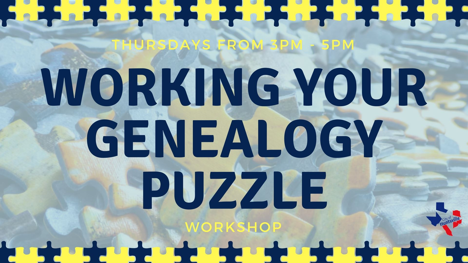 Working Your Genealogy Puzzle