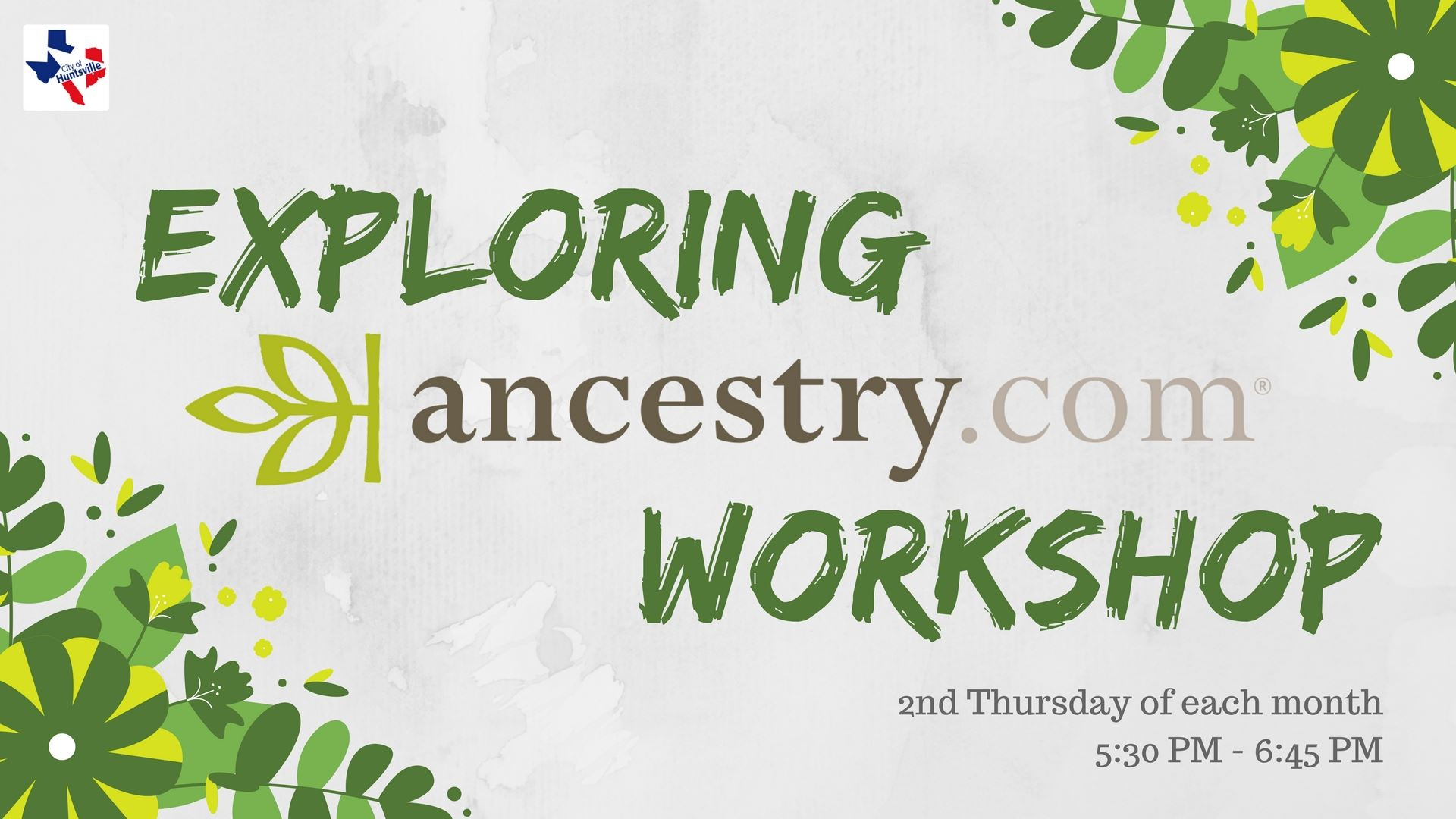 ancestry workshop