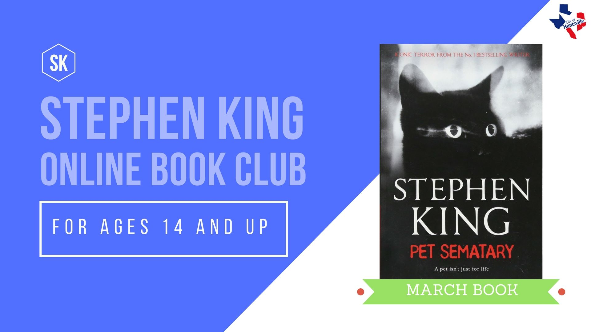 STEPHEN KING MARCH