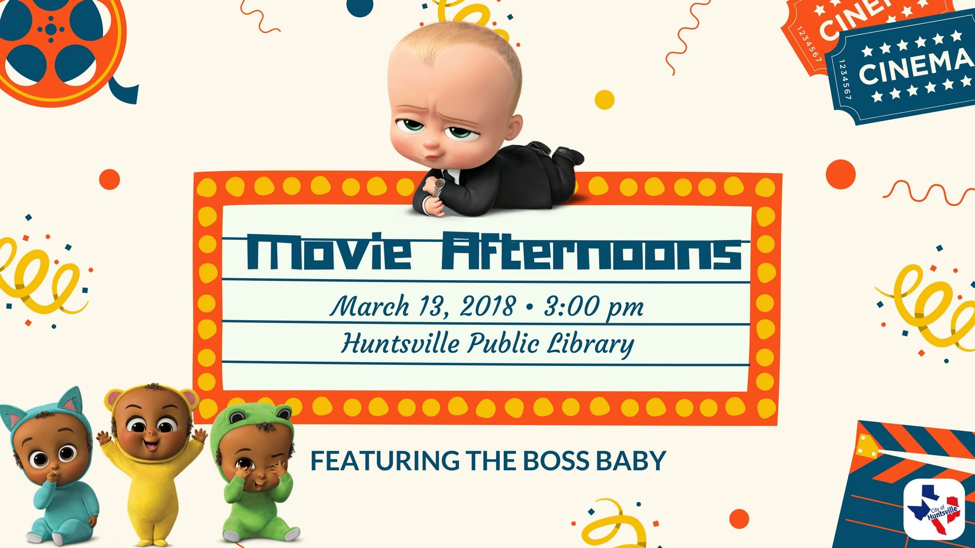 movie afternoons boss baby
