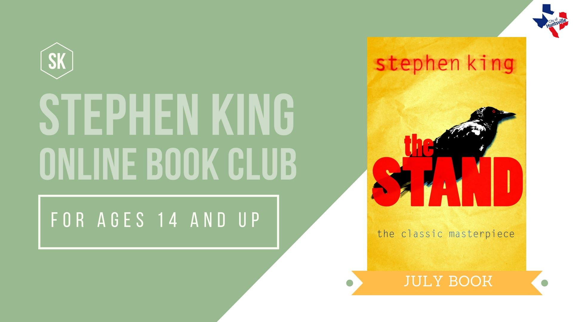 STEPHEN KING JULY