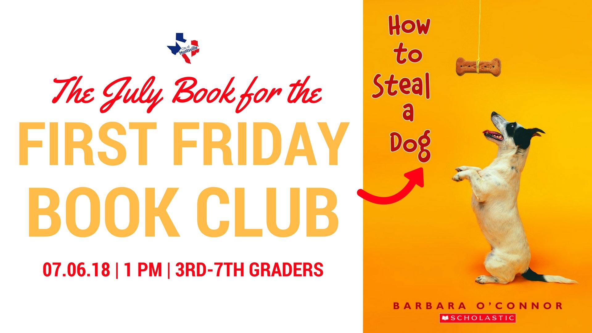 First Friday Book July
