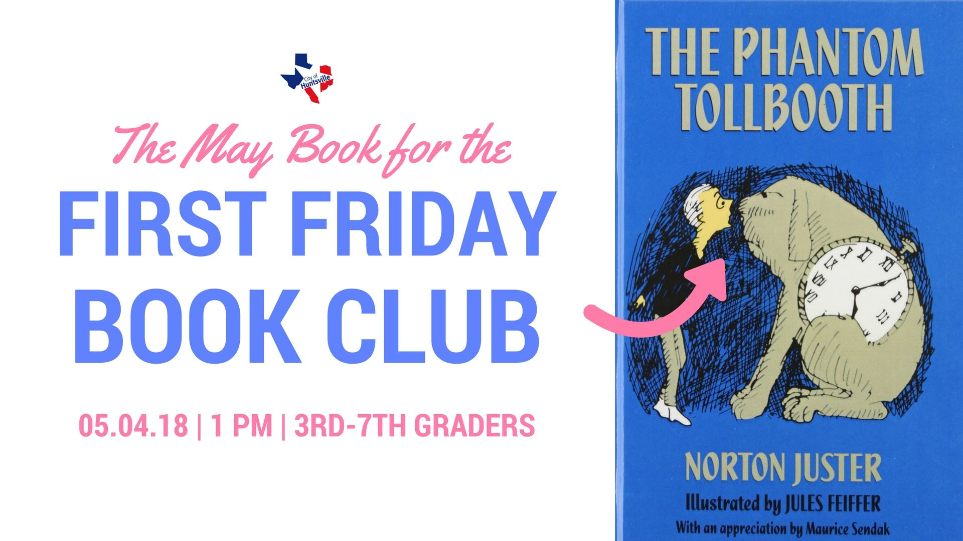 First Friday Book May