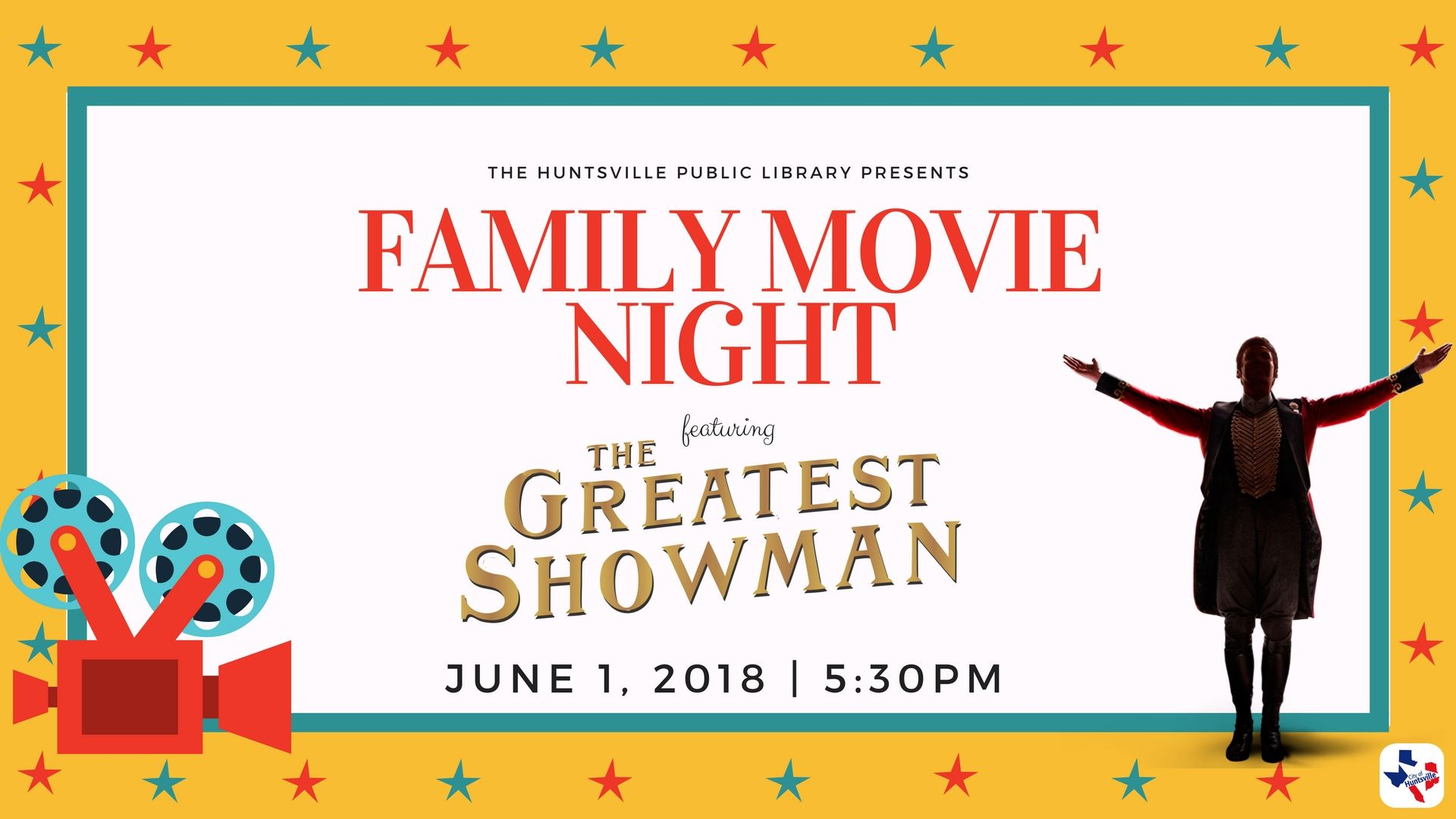 06 Family Movie Night Greatest Showman June
