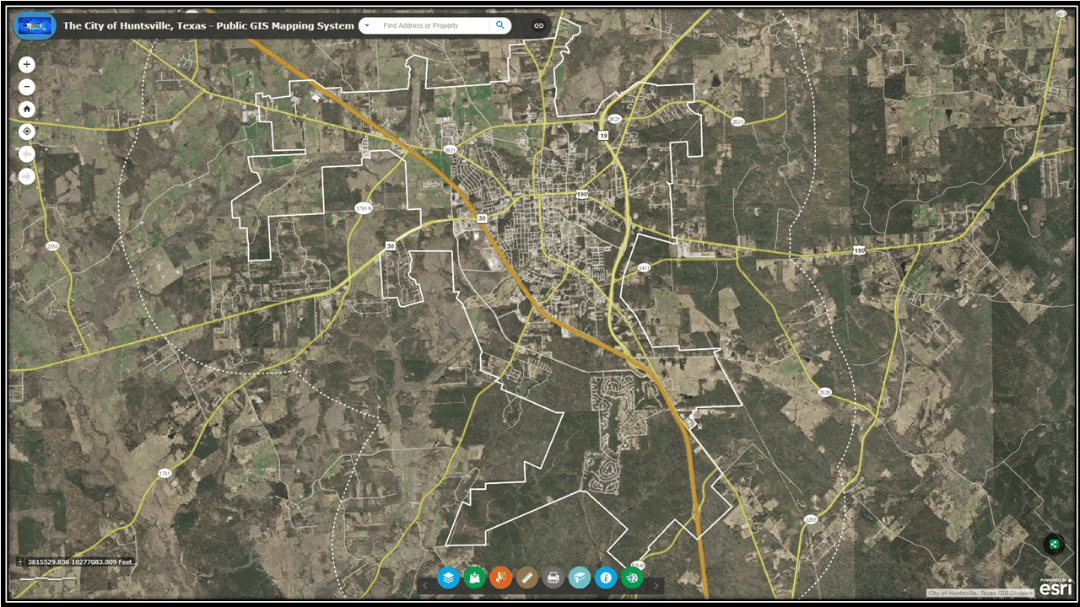 New GIS Web Viewer