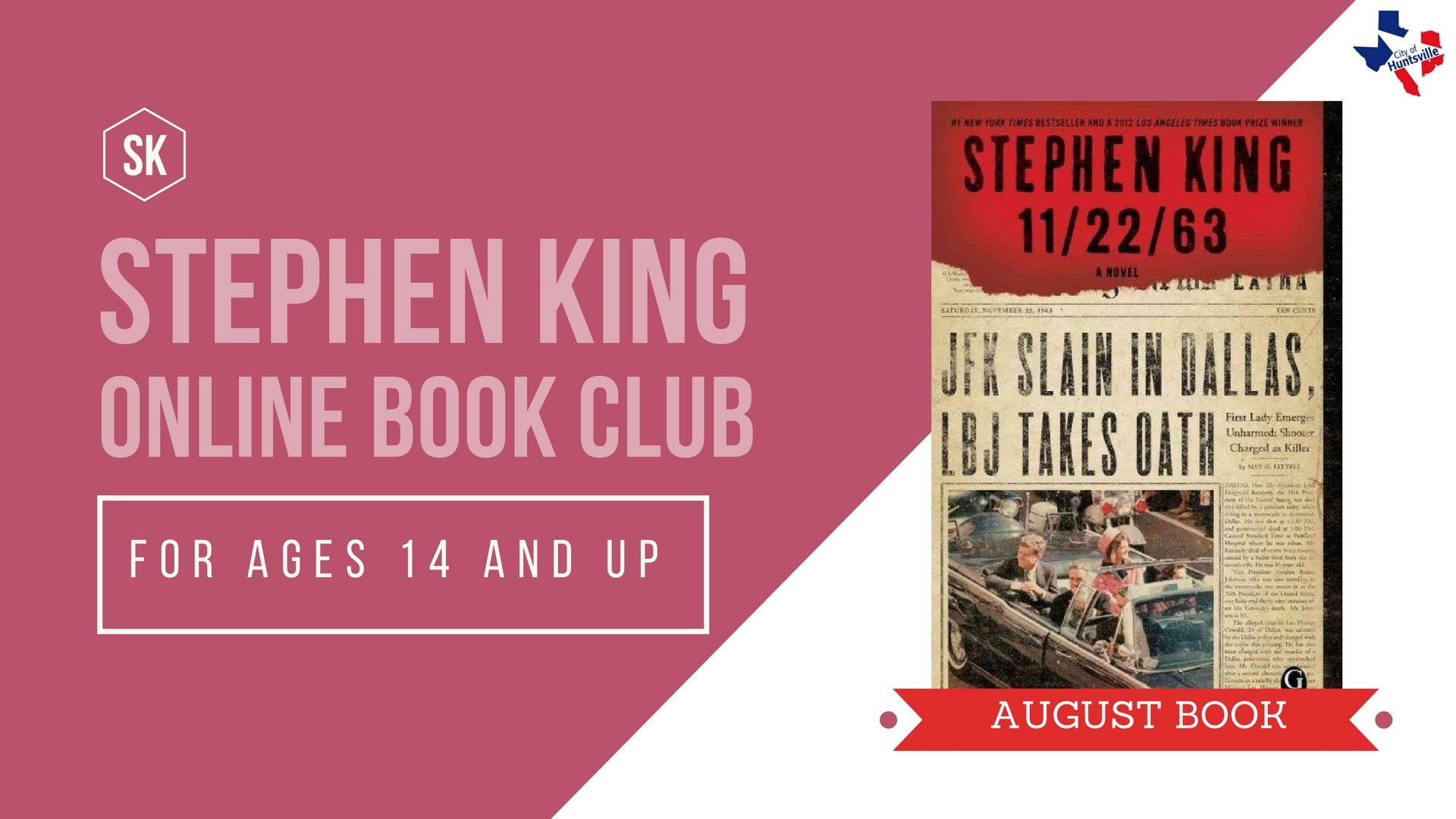 STEPHEN KING AUGUST