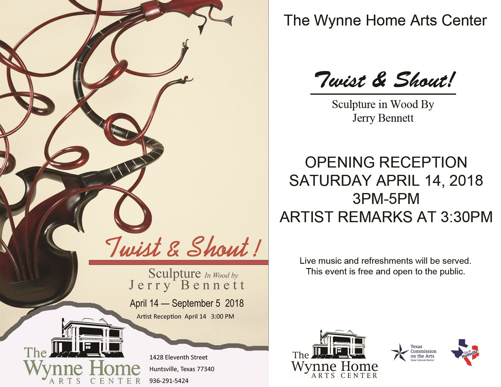 Twist and Shout Invite---Flyer