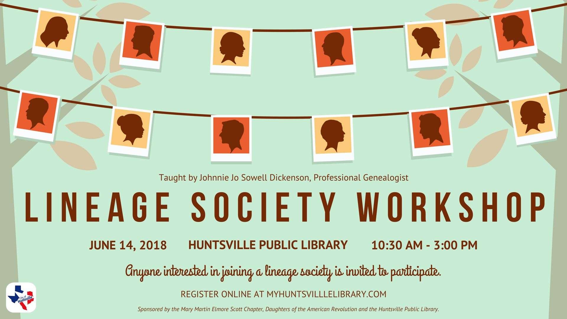 06-14 Lineage Society Workshop