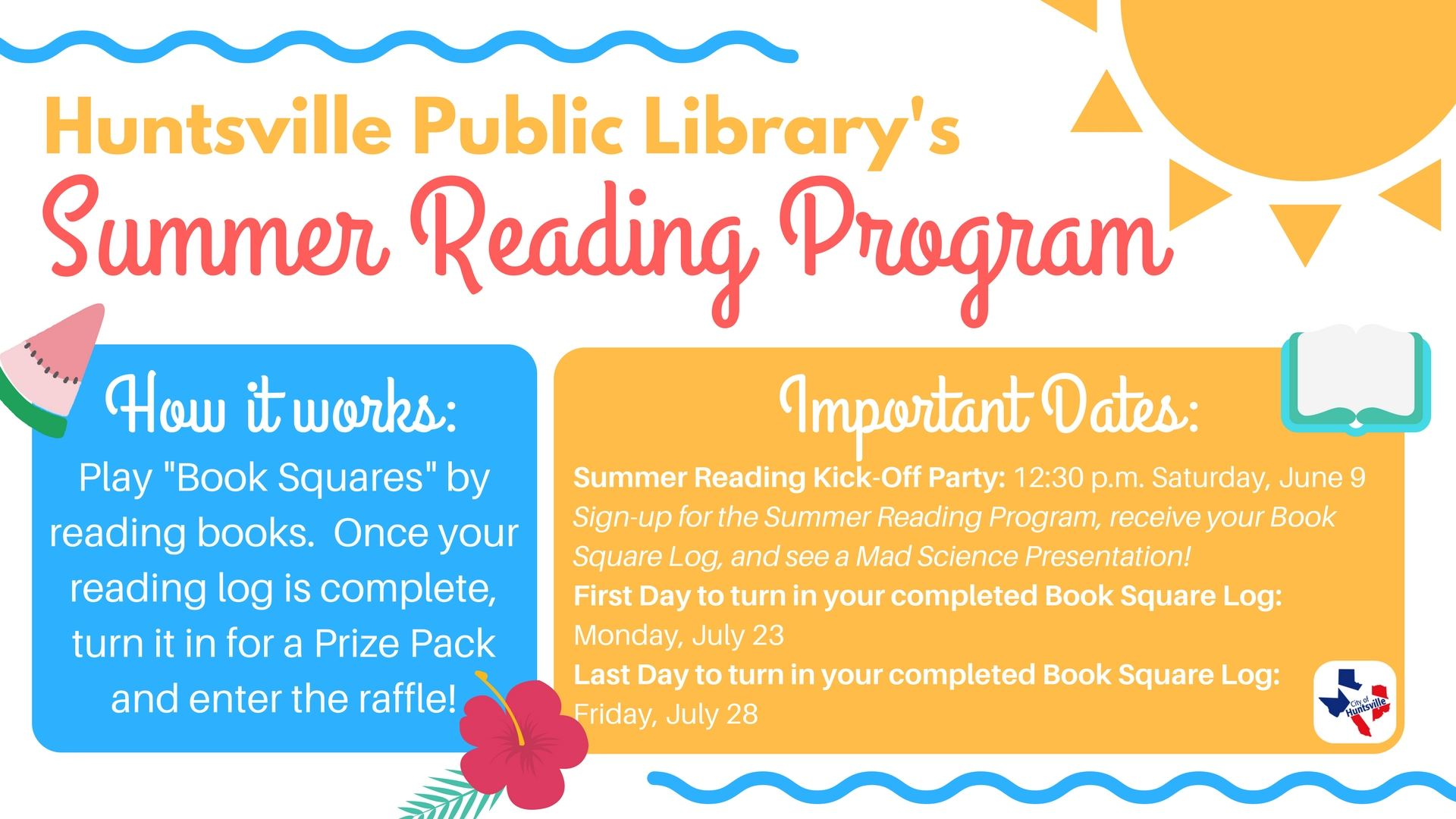 Summer Reading Program Detailed general