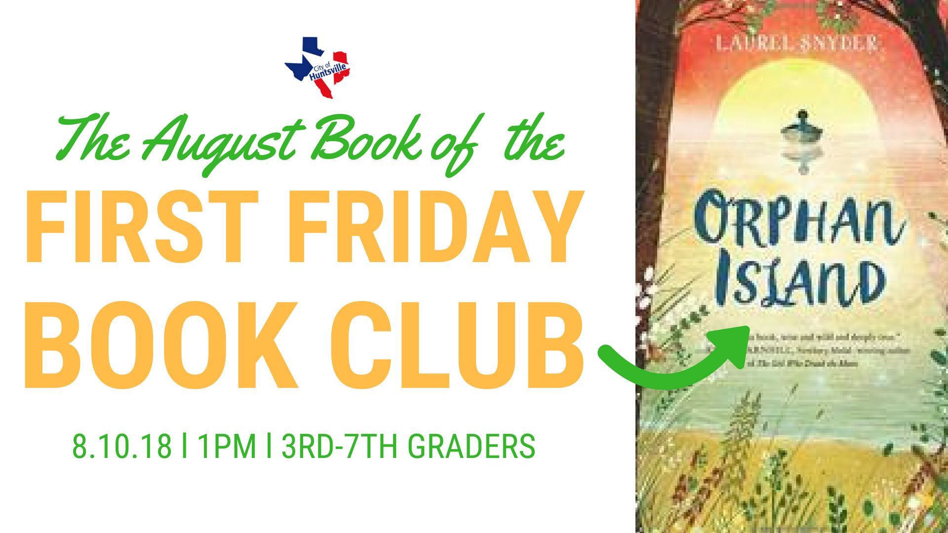 First Friday Book August