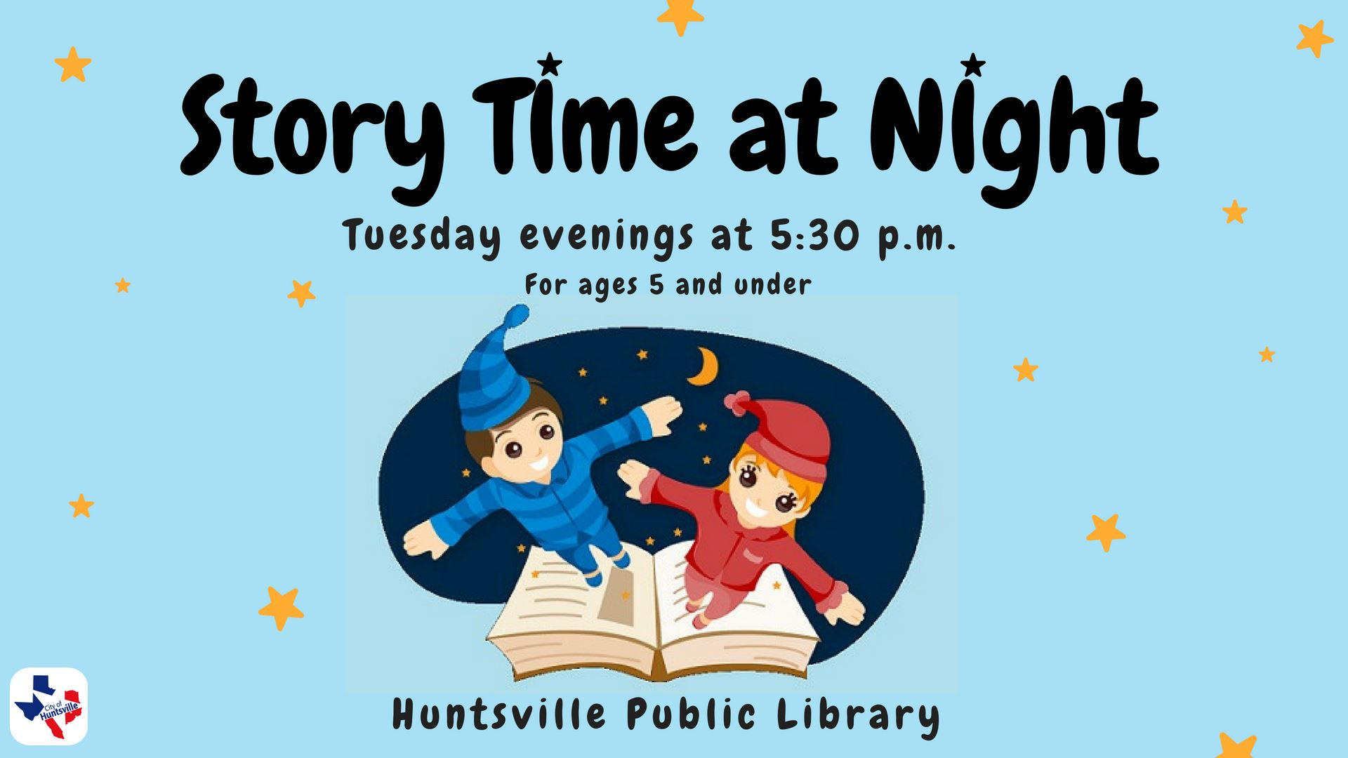 Story time at Night