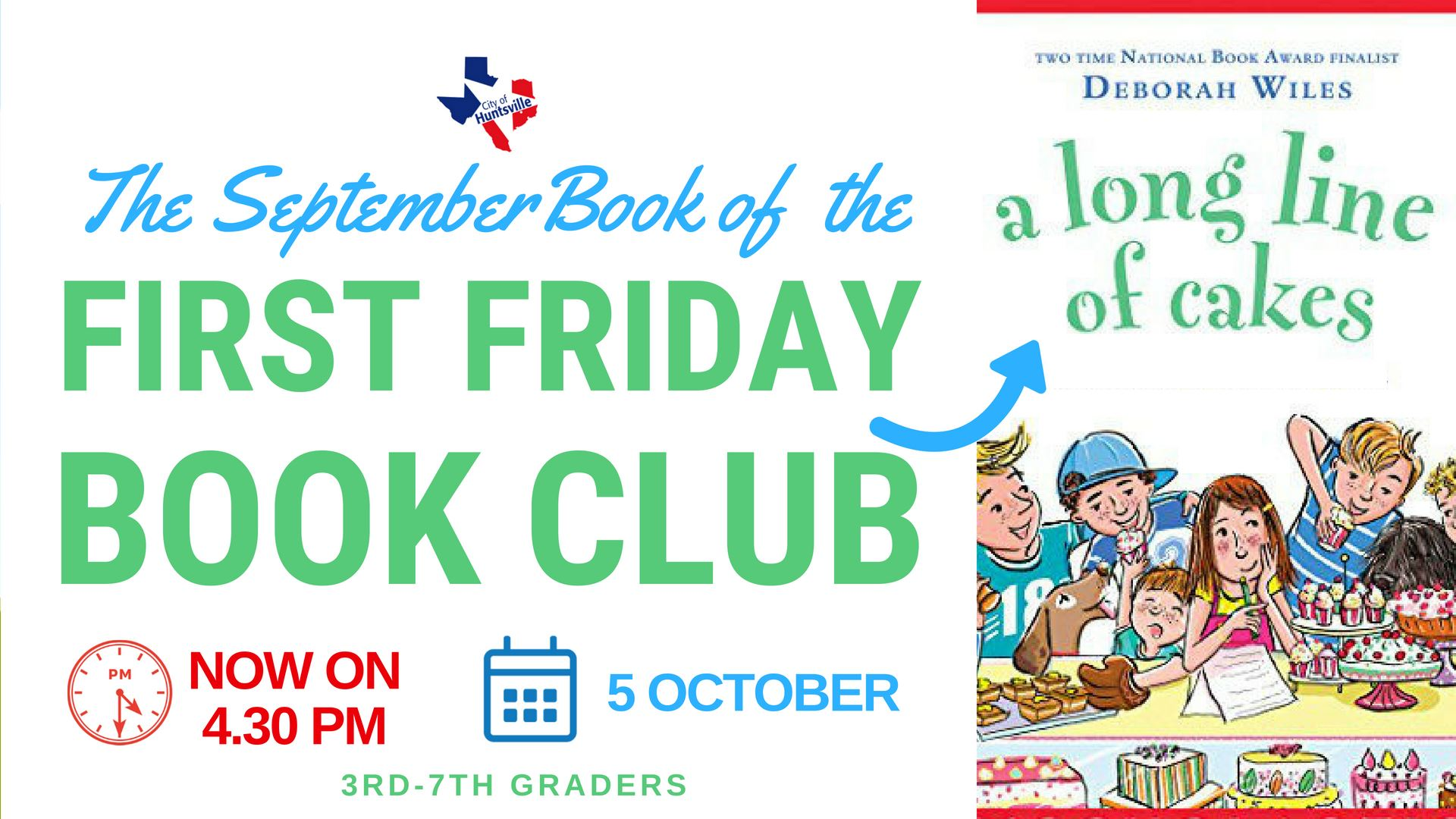 First Friday Book October