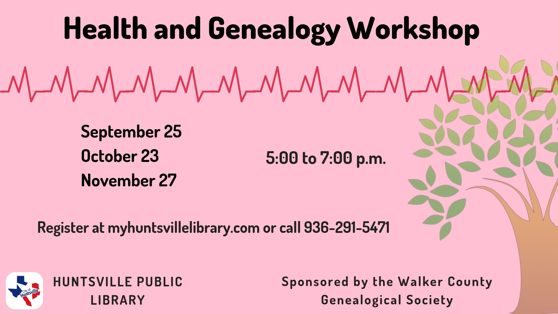 Health and Genealogy workshop