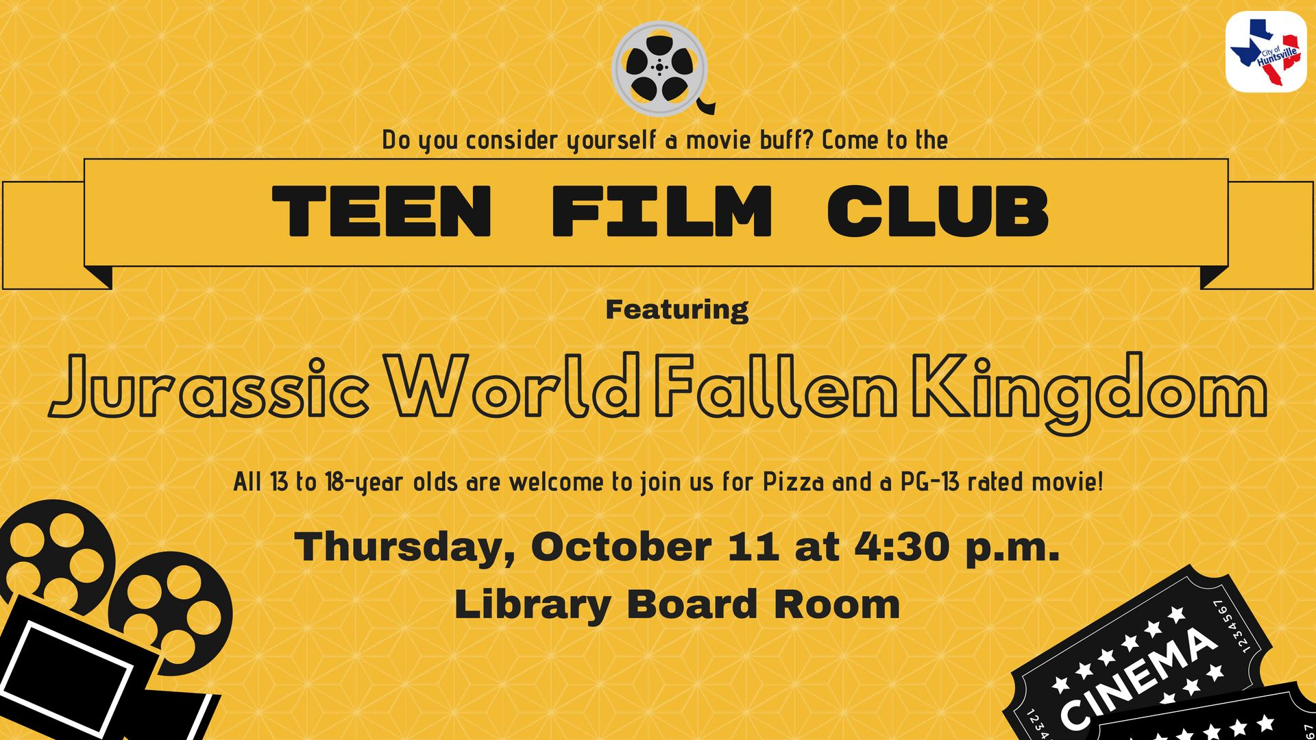 10 Teen Film Club