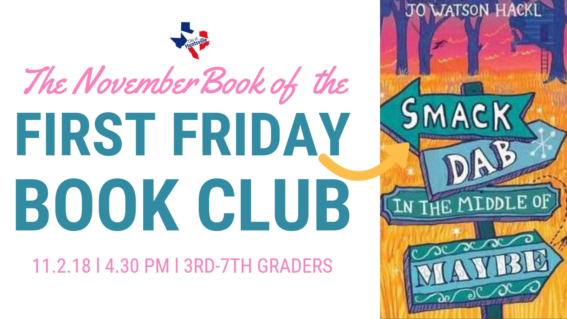 First Friday Book November