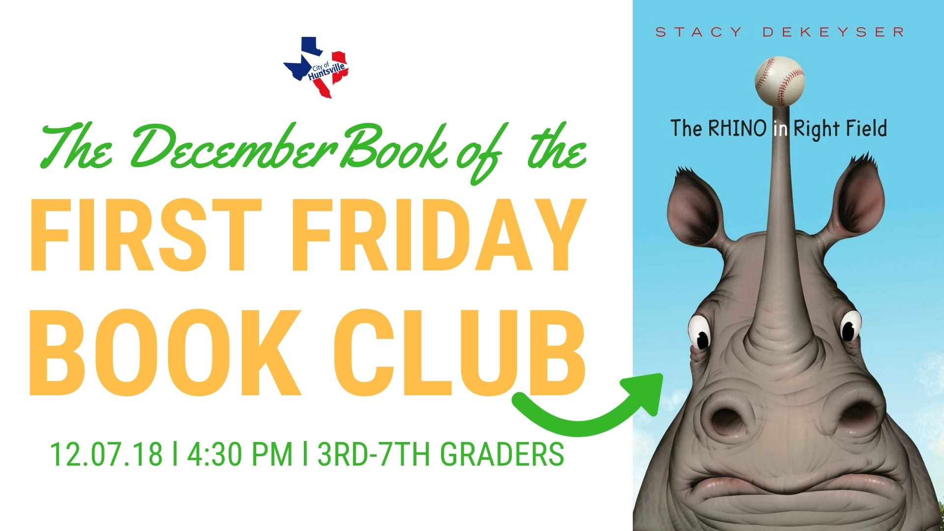 First Friday Book December