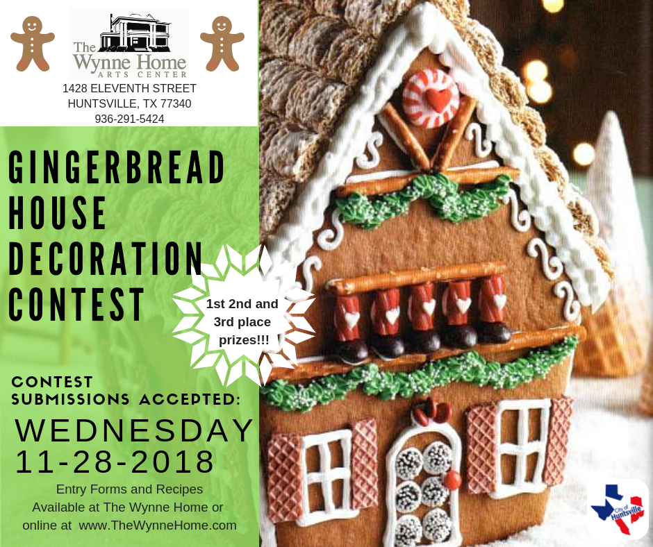 Gingerbread Contest 2018