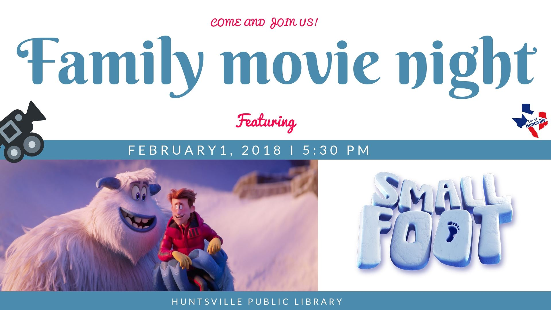 Family Movie Night 02-19