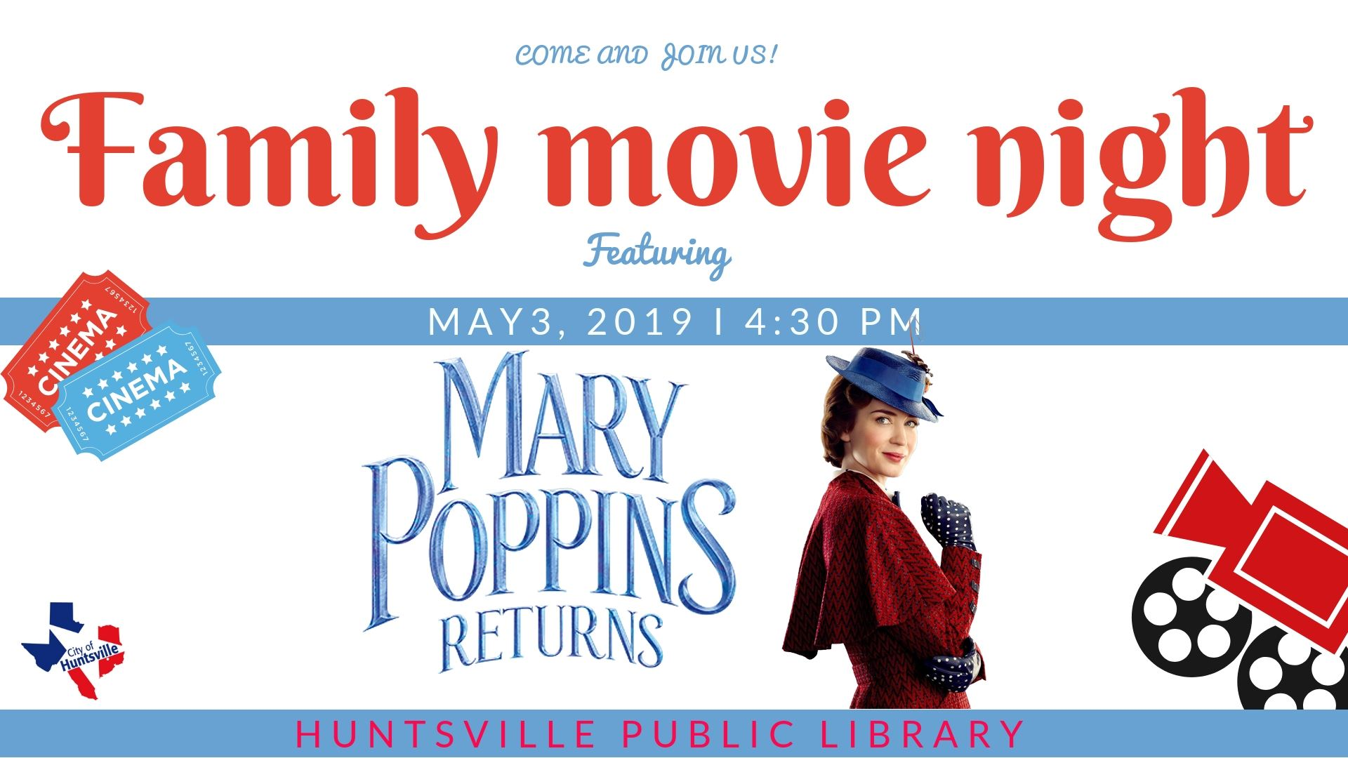 Family Movie Night 05-19