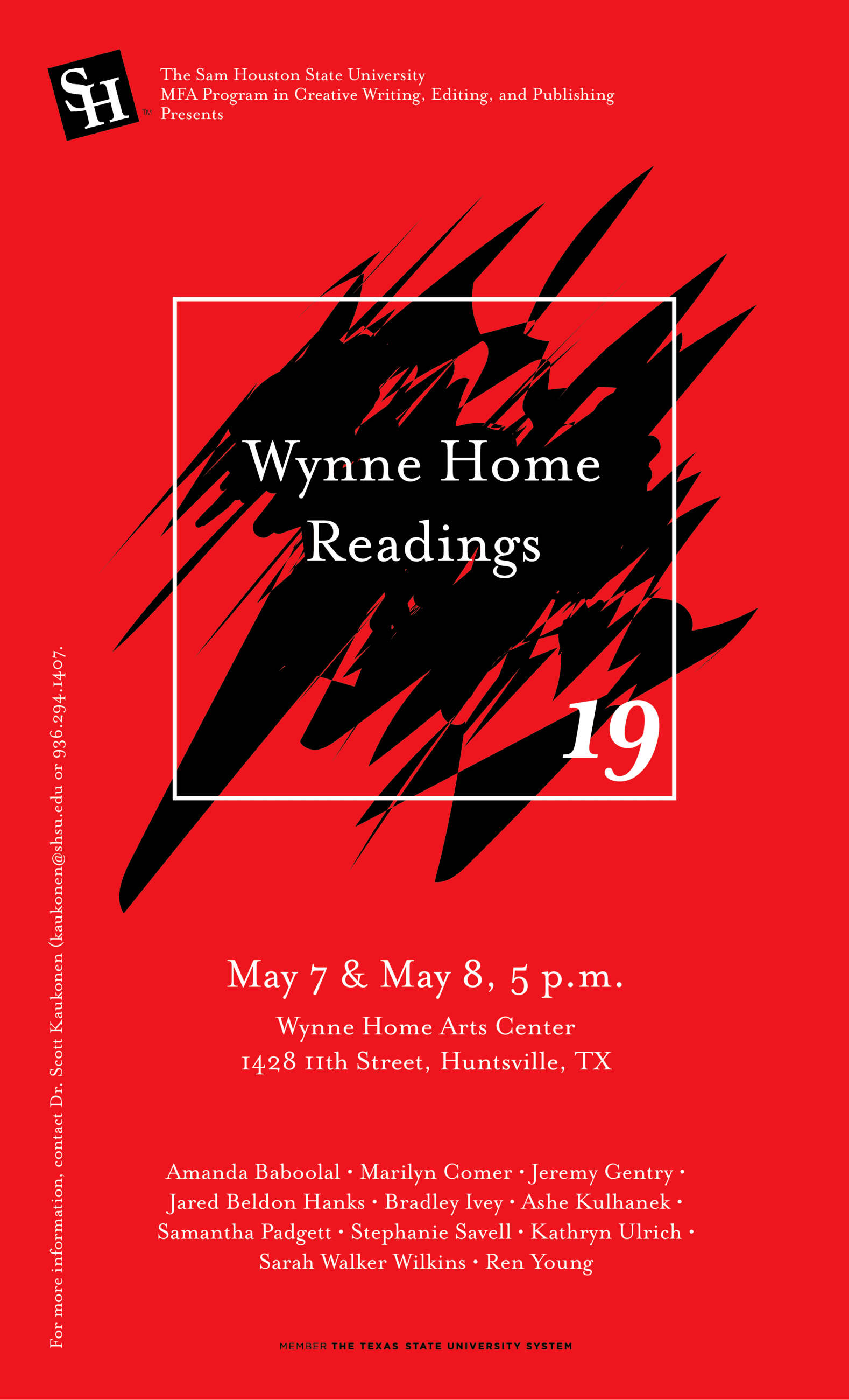 Wynne Home Readings 19