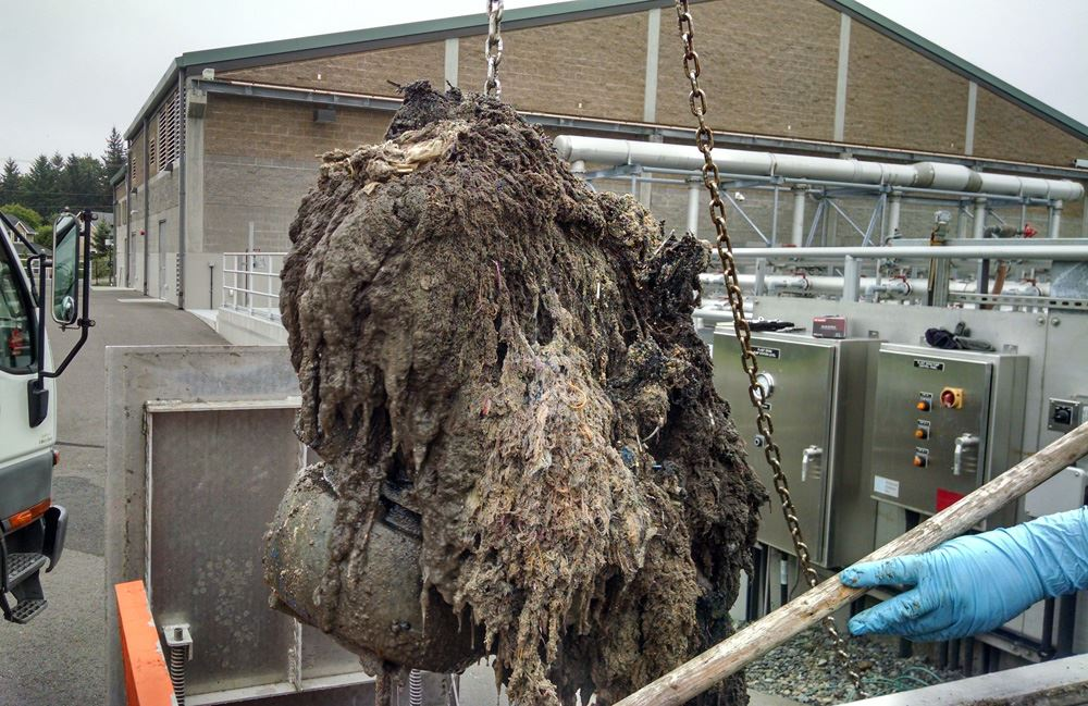 All-too-common-example-of-wipes-and-rags-building-up-around-an-unprotected-pump