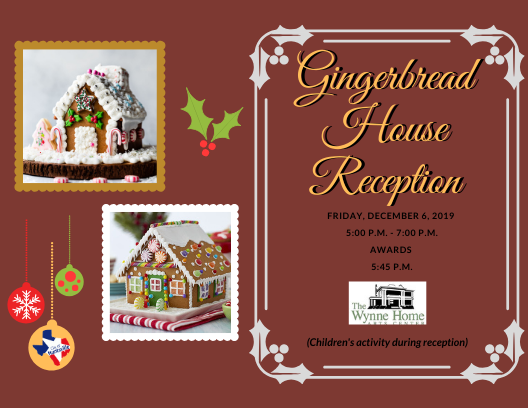 Gingerbread House Reception