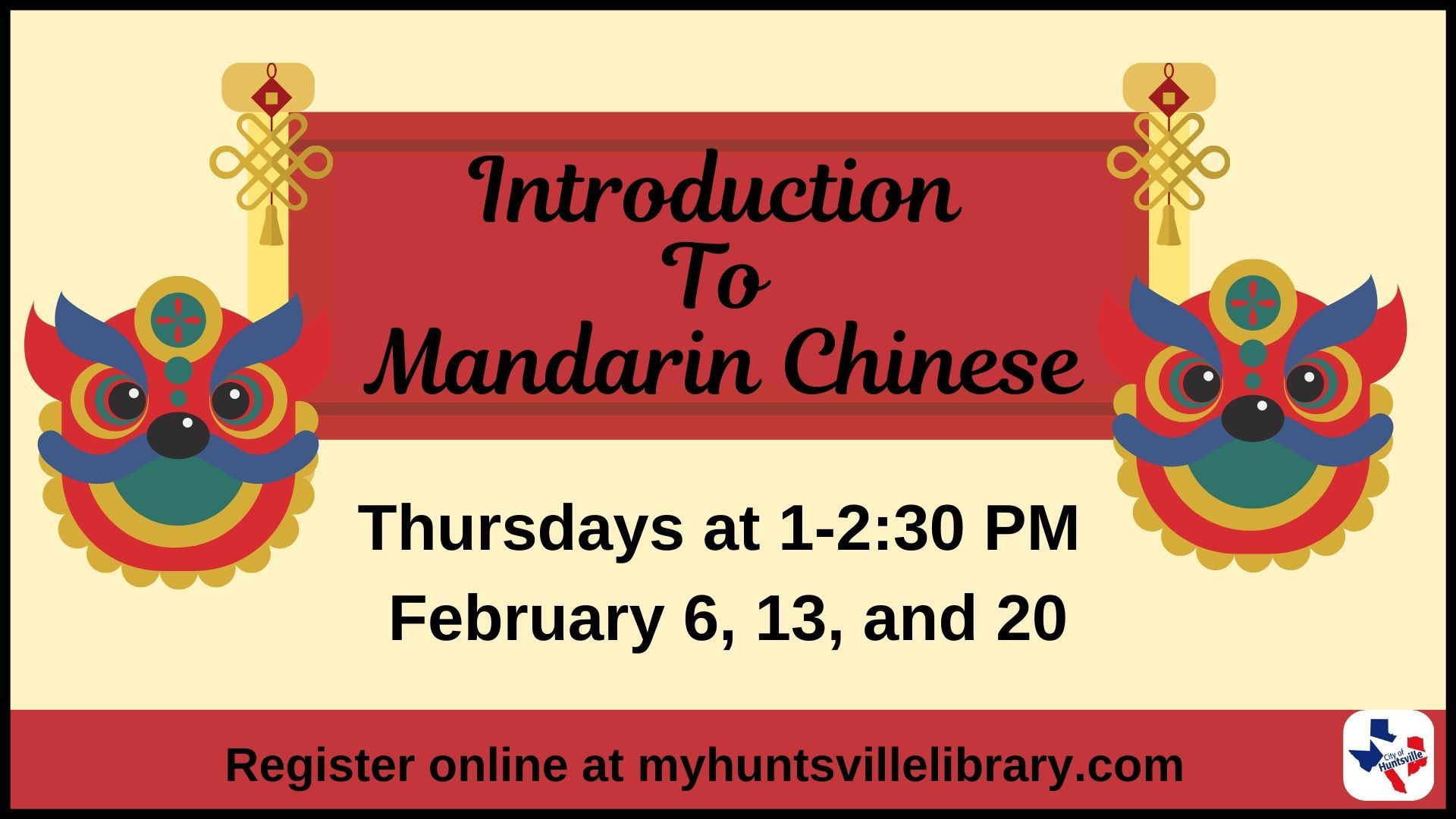 Introduction to Mandarin Chinese 02-20