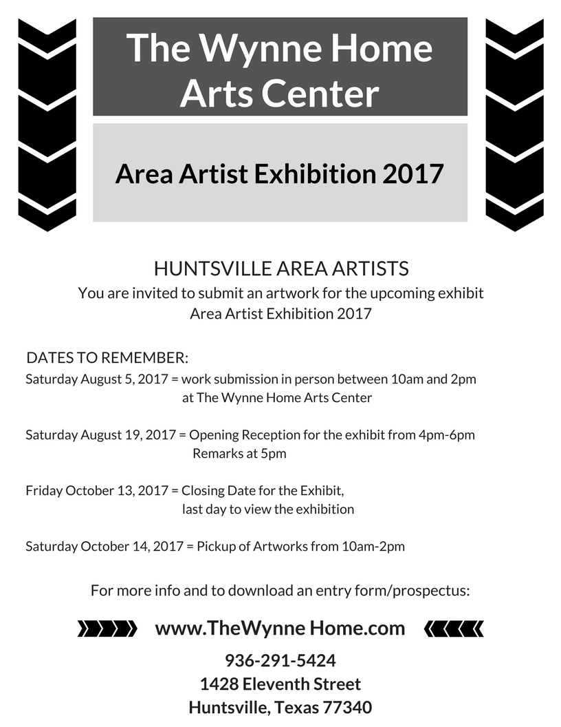 Area Artist Exhibition 2017