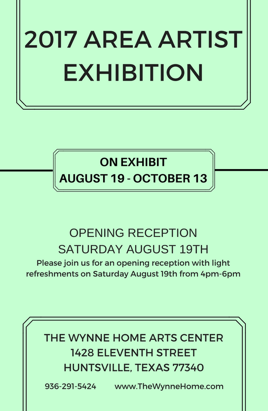2017 AREA ARTIST EXHIBITION