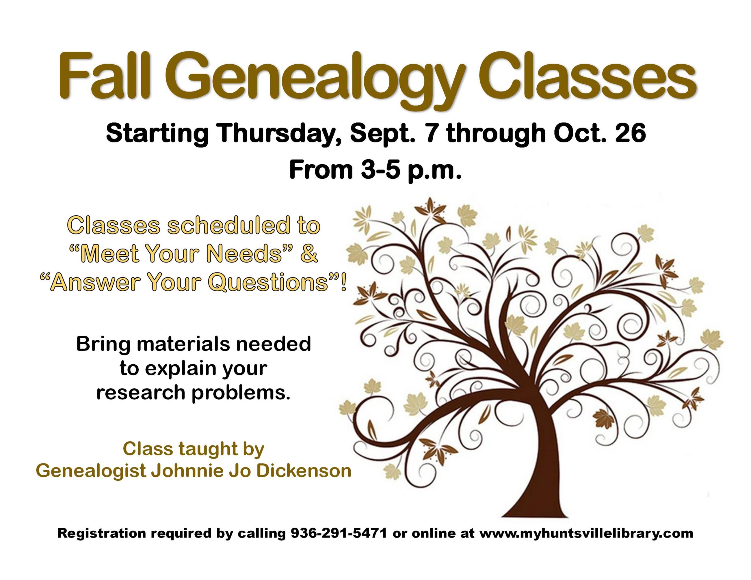 fall genealogy