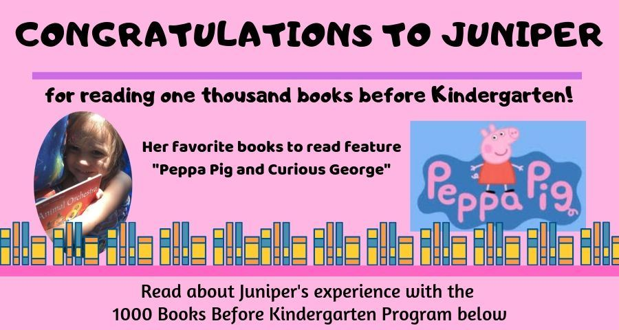 1000 Books reader - Juniper