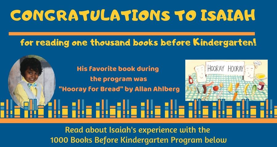 1000 Books reader - Isaiah