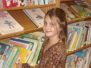 Student at Huntsville Elementary School
